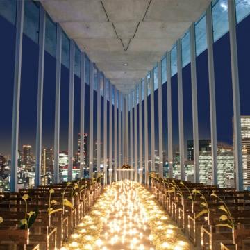 大阪のサプライズプロポーズ HARMONIE EMBRASSEE WEDDING HOTEL アルモニーアンブラッセ ウエディングホテル