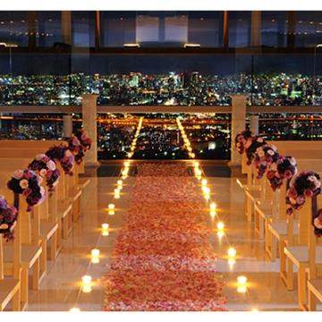 大阪のサプライズプロポーズ Lucir 天空のチャペル ルシール