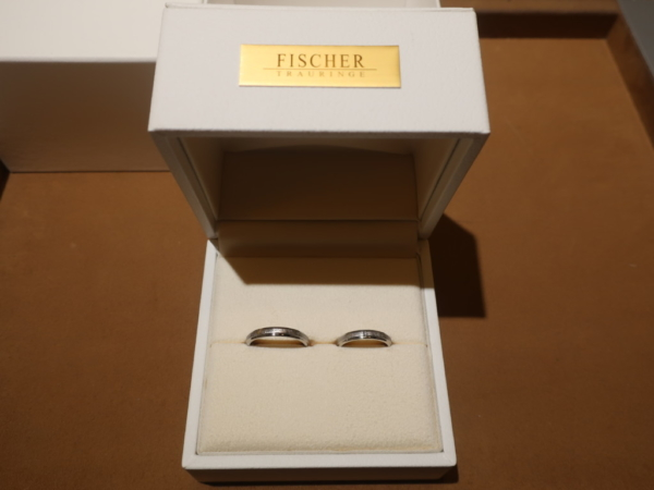FISCHERの結婚指輪 奈良県天理市