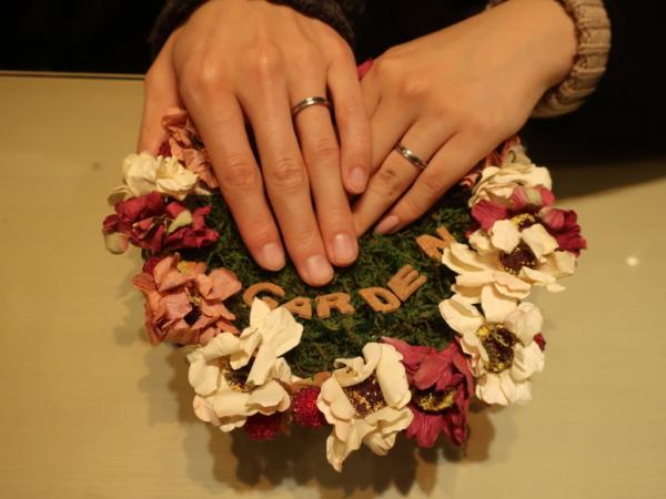 フィッシャー・FISCHERの結婚指輪 大阪市/生駒市