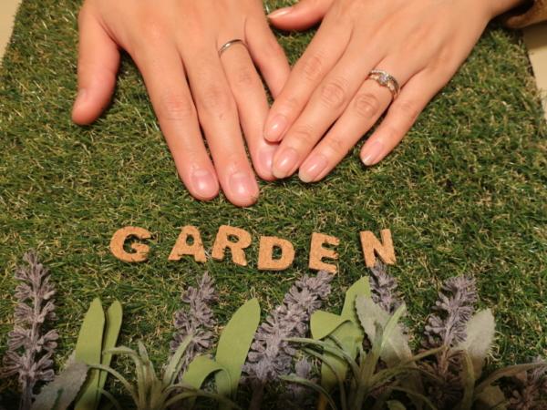 PAVEOCHOCOLATの婚約指輪 大阪市北区