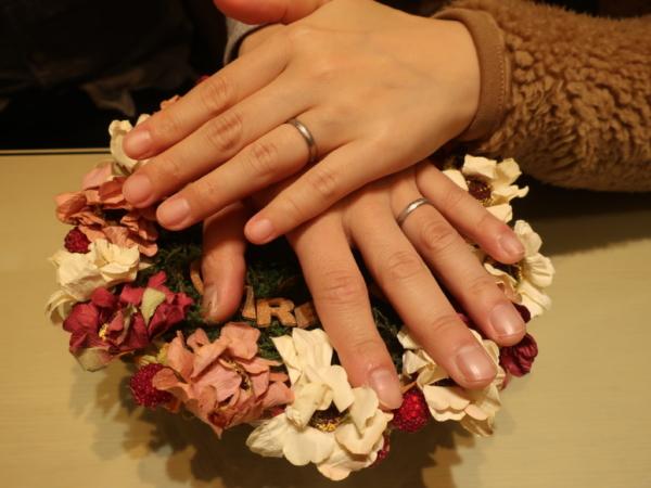 フィッシャー・FISCHERの結婚指輪 大阪府池田市