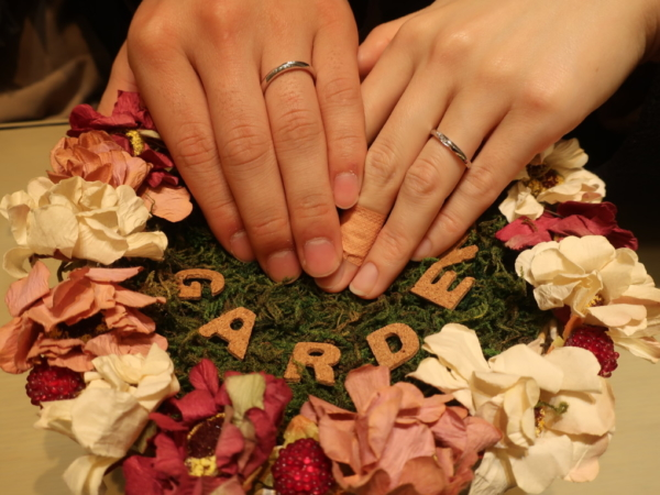Pulitoの結婚指輪 和歌山県紀の川市・大阪府交野市