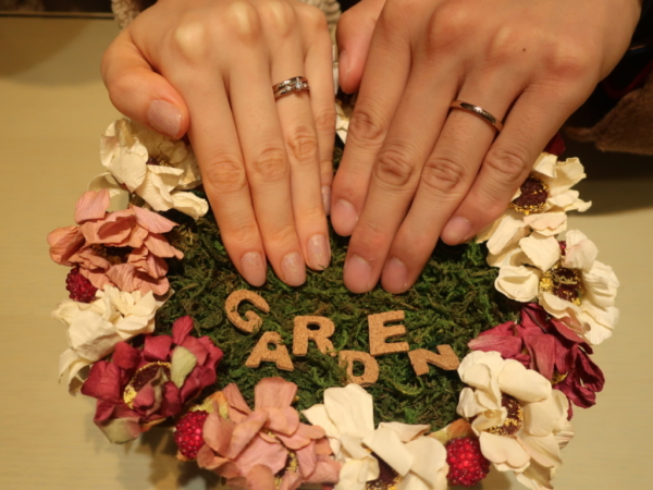 Honey Brideの結婚指輪