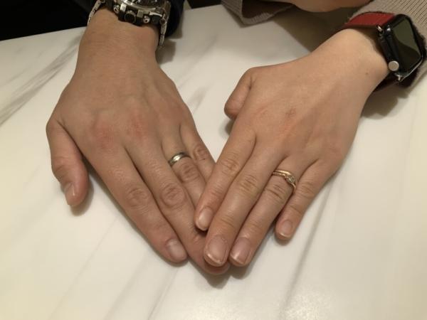 兵庫県・神戸市 FISCHERの結婚指輪をご成約頂きました