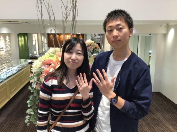 加東市 RosettE・et.luの結婚指輪をご成約頂きました。