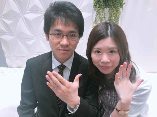 兵庫県姫路市「PilotBridal」の結婚指輪をご成約頂きました。