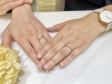 明石市 SWEET BLUE DIAMOND・et.luの結婚指輪