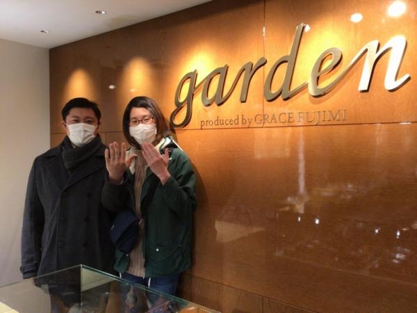兵庫県加東市「フィッシャー」の結婚指輪をご成約頂きました。