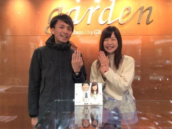 姫路市 FISCHERとMariage entの結婚指輪をご成約頂きました