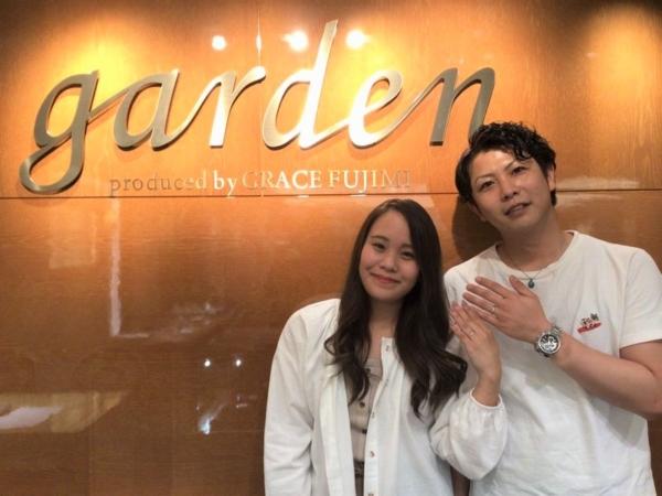 兵庫県明石市「LAPAGE」の結婚指輪をご成約頂きました。