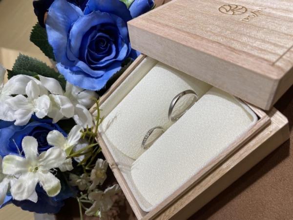 兵庫県姫路市「IROノHA」の結婚指輪をご成約頂きました。