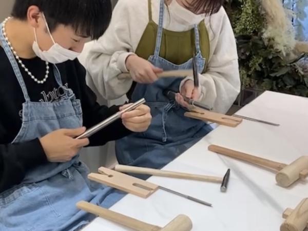 兵庫県宝塚市・西宮市 手作りペアfリング(指輪)作成いただきました