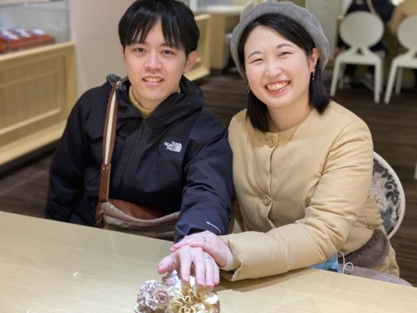 兵庫県姫路市「FISCHER」のマリッジリングをご成約頂きました。