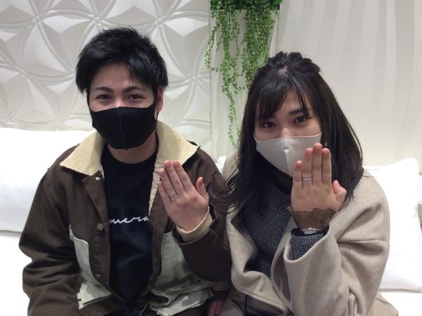 兵庫県姫路市「RosettE」「LAZARE DIAMOND」の結婚指輪をご成約頂きました。