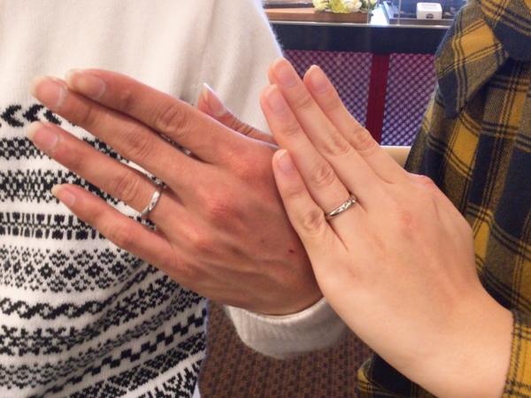 大阪府泉佐野市 Passageの結婚指輪