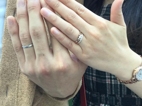 堺市東区 PassageとGRACEKAMAの結婚指輪