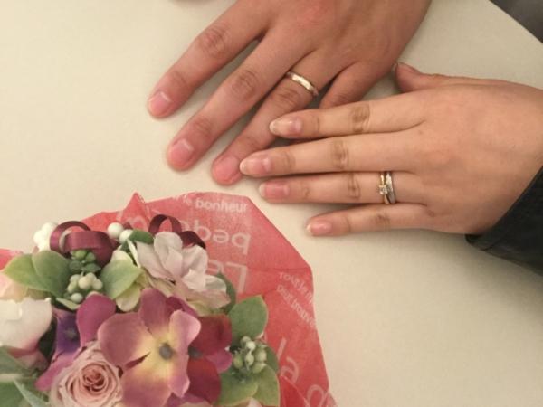 奈良県 ORECCHIOの婚約指輪・FISCHERの結婚指輪
