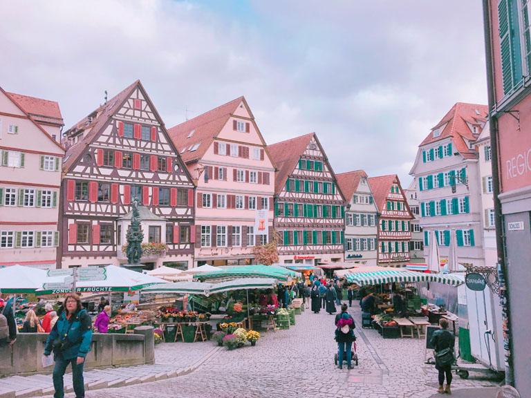 ついた先はドイツの伝統ある歴史ある街テゥービーゲン