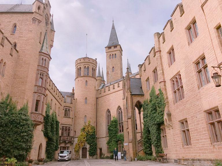 中世の歴史、このお城の歴史
