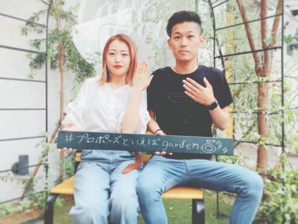 東大阪市 ピンクダイヤの指輪ブランドMILK & Strawberryの結婚指輪