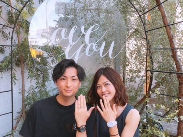 兵庫県尼崎市 ロゼット(RosettE)の魔法の結婚指輪