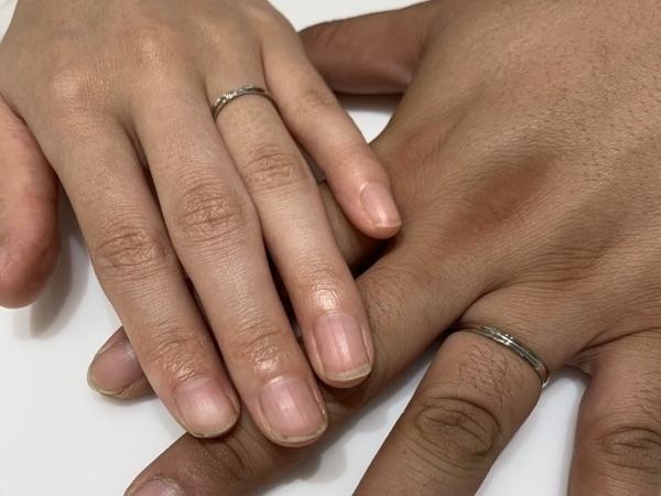 京都府右京区|インセンブレの結婚指輪をご成約いただきました。