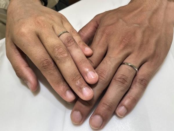 兵庫県神戸市 Coffret Couleurの結婚指輪をご成約頂きました