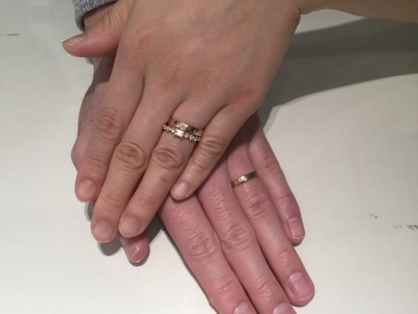 大阪市淀川区 フィッシャーFISCHERとオレッキオORECCHIOの婚約指輪と結婚指輪