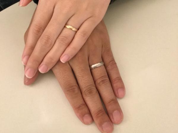 FISCHERの結婚指輪 大阪府岸和田市
