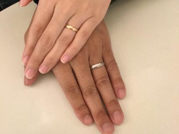 大阪府岸和田市 鍛造ブランドFISCHER(フィッシャー)の結婚指輪