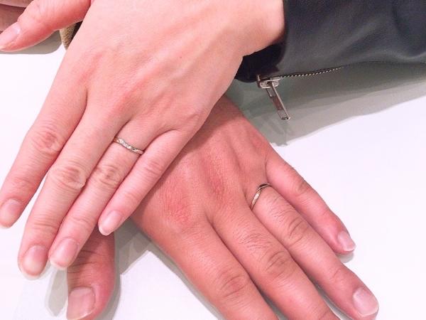 nocurの結婚指輪 大阪府和泉市