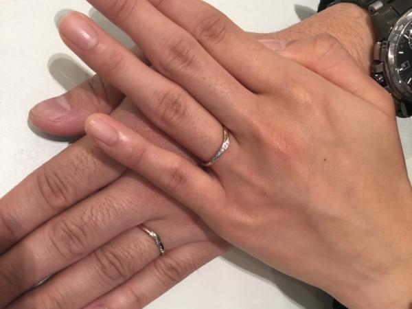 nocurの結婚指輪 大阪府堺市東区・堺市北区
