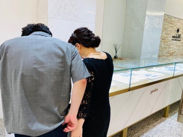 東京都・奈良県|丈夫でオシャレなフィッシャーの結婚指輪をご成約いただきました。
