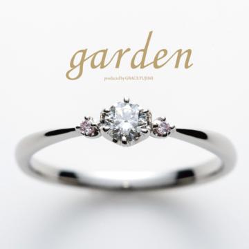 ピンクダイヤの安い婚約指輪エンゲージリング