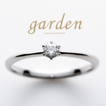 ウェーブの婚約指輪エンゲージリング安い3