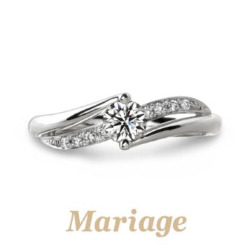 Mariage ent指輪プルミエールエンゲージリング