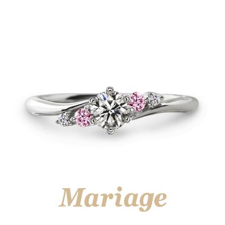記念日に渡せる婚約指輪でおすすめのマリアージュエント