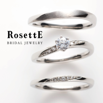 淡路島で人気の婚約指輪はロゼット