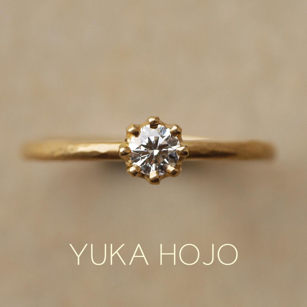 京都でオシャレな婚約指輪
