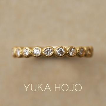 ユカホウジョウブルームの結婚指輪