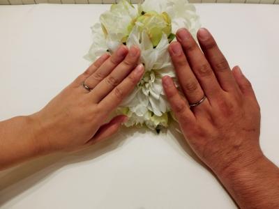指輪選びを丁寧にして下さり嬉しかったです!