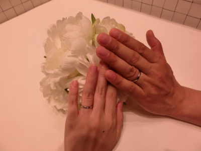 ていねいにご案内して頂きステキな指輪が見つかりました。