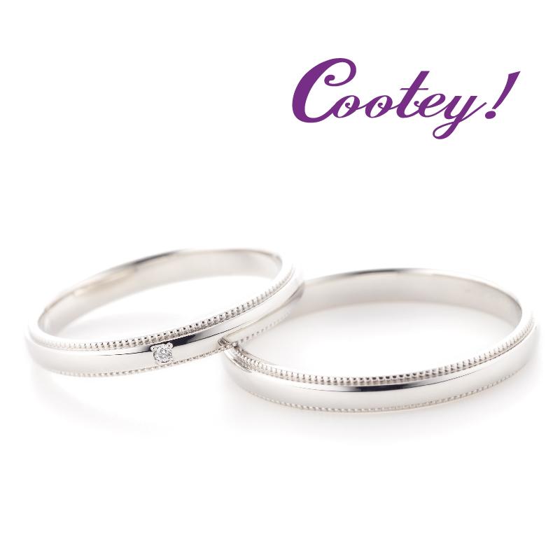 Cootey!(クーティ)の結婚指輪2