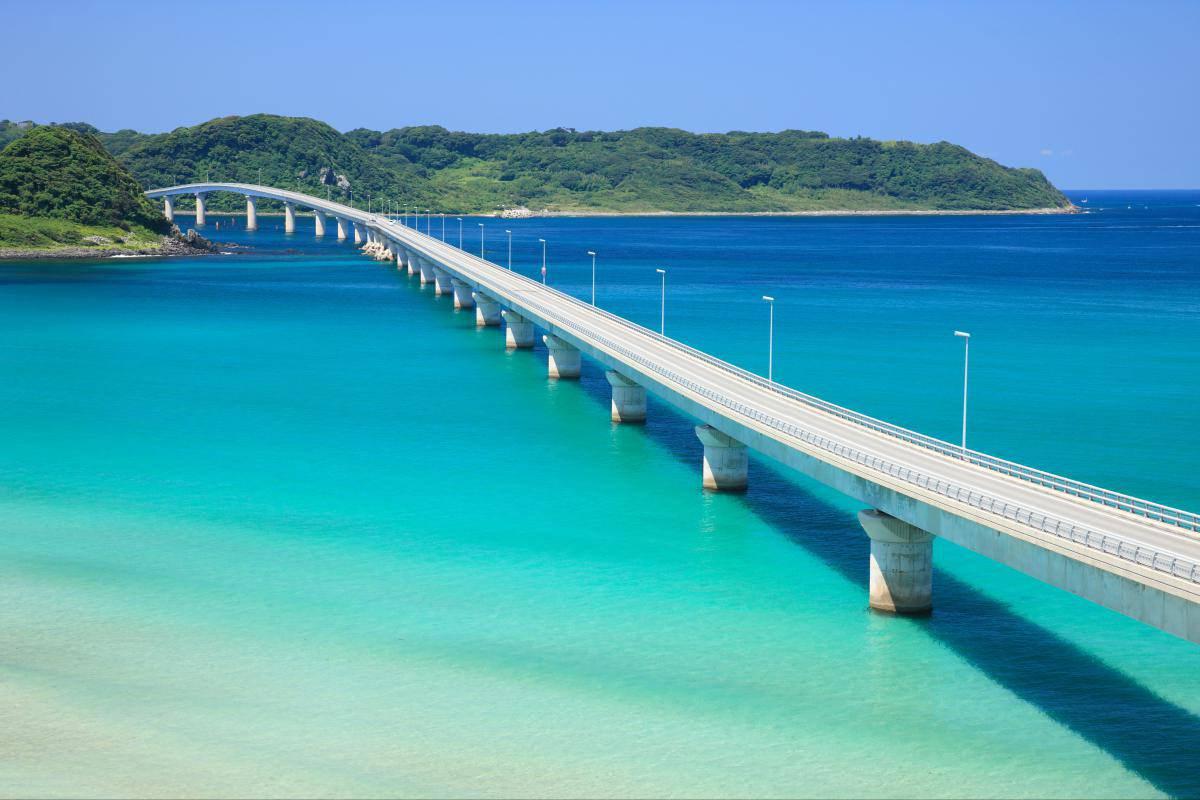 「角島大橋」の画像検索結果