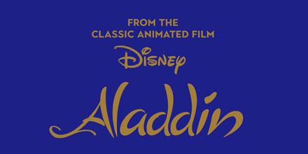 ディズニーアラジンのロゴ