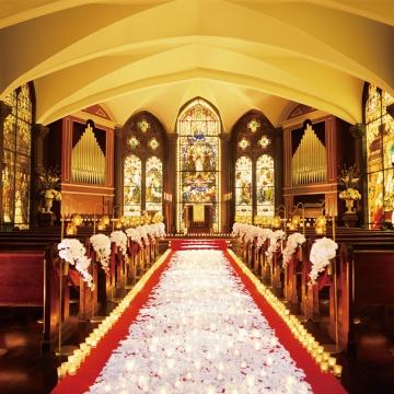 大阪のサプライズプロポーズ セントラファエロ教会