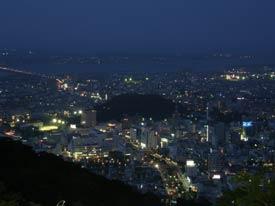 徳島でプロポーズするなら眉山