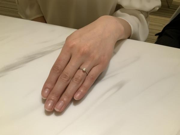 兵庫県高砂市 littlegardenの婚約指輪をご成約頂きました
