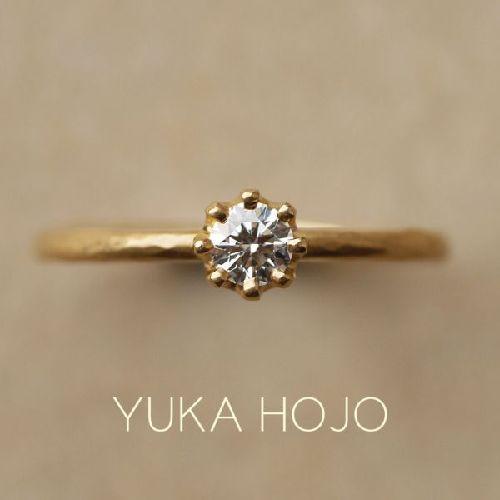 神戸でプロポーズするなら婚約指輪はユカホウジョウのカプリ